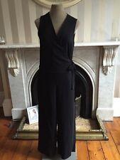 Massimo Dutti Jumpsuit Size 12 Black New