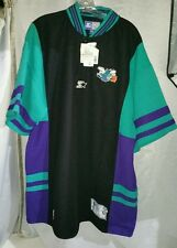 Starter Charlotte Hornets Men's Size XXL Fans Shirt Jersey Vtg. Multicolor NBA