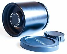 OLYMPUS OM MOUNT COMPACT RMC TOKINA 500mm f/8 TELEPHOTO MIRROR PRIME LENS