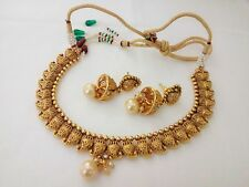 Latest Indian fashion jewelry necklace bollywood ethnic gold plated traditional