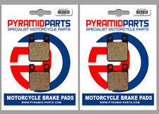 Beta TR 125 34, 35 89-90 Front & Rear Brake Pads Full Set (2 Pairs)