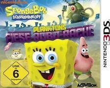 Nintendo 3DS SPONGEBOB Schwammkopf PLANKTONS FIESE ROBO RACHE Neu