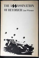 The Assassination of Heydrich Jan G. Weiner HB/DJ 1st Printing Fine/VG