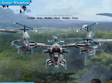 AVATAR 3D RC warplane airbender 2.4GHz 4 CH Gyro RTF fighter helicopter Airplane