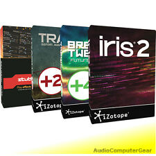 iZotope CREATIVE BUNDLE + DDLY and Mobius Filter FREE StutterEdit Iris Trash NEW