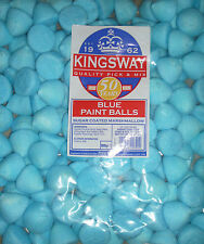 FACTORY SEALED 900G BAG OF BLUE SUGAR COATED MARSHMALLOW PAINT BALLS APPROX 150