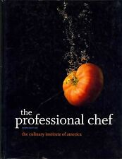The Professional Chef by The Culinary Institute of America (Hardcover) NEW