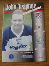 23/03/2001 Ayr United v Newcastle United [John Traynor Testimonial] (No apparent