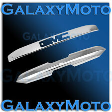 15-16 GMC Yukon+XL Chrome Upper+Lower Liftgate Tailgate Handle Accent Cover 2016