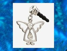 ANGEL DANGLE Earphone Jack Dust Plug Cover Stopper Cell phone Iphone Android NEW
