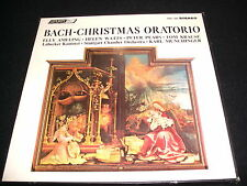 BACH°CHRISTMAS ORATORIO  MUNCHINGER  3 LP Vinyl ~UK Pressing  LONDON OSA 1386