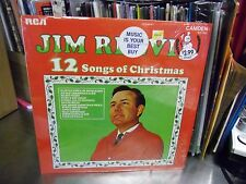 Del Reeves 12 Songs of Christmas vinyl LP RCA Records IN Shrink EX