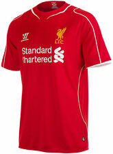 NWT LIVERPOOL FC Authentic Home Red Mens Jersey Shirt Size XL