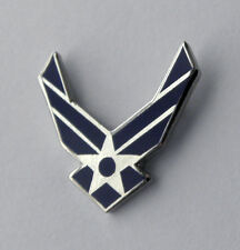 USAF US AIR FORCE CUT OUT SMALL WINGS LAPEL PIN BADGE 3/4 INCH