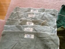 Lot of eight anti-tarnish sterling storage cloths from Connecticut stores