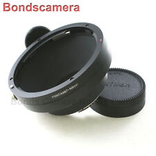 AF confirm Pentax 67 P67 6x7 Lens to Nikon F mount Adapter Camera D600 D800