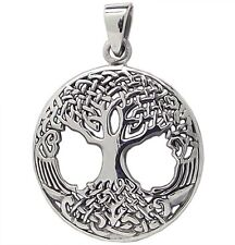 Sterling Silver (925)  Tree  Of  Life  Pendant  !!        Brand  New  !!