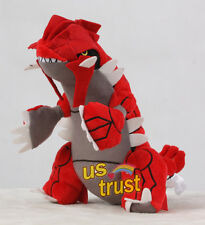 New Pokemon Center Plush Doll 12inch Groudon Stuffed Animal Toy