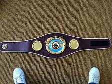 WBO ORGANIZZAZIONE MONDIALE PUGILATO Campione Del Mondo Cintura , Champ