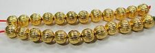Vintage handmade 22K Gold jewelry beads set of 24 pieces rajasthan india