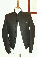 THE KOOPLES MILITARY JACKET With Badge Grey Size Small uk 36 eu 46