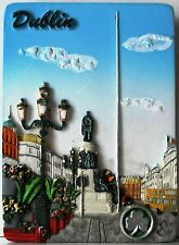Fridge magnet,Dublin,irish souvenir,ireland 3D design gift O'CONNELL STREET/DAY