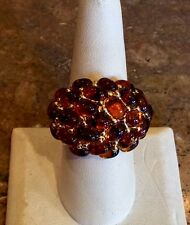 """KJL"" BY KENNETH JAY LANE ""BERKELEY CABOCHON RING"" SZ 8 SPECTACULAR!!"