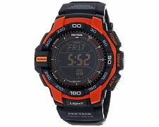 Casio Pro Trek Digital Black Resin Mens Watch PRG-270-4CR