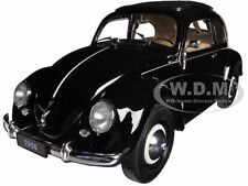 1950 VOLKSWAGEN CLASSIC OLD BEETLE SPLIT WINDOW BLACK 1/18 BY WELLY 18040