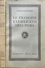 Le Filosofie e le Religioni dell' India