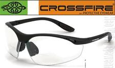 Crossfire Talon 2.5 Clear Lens Bifocal Reading Magnifier Safety Glasses Z87.1