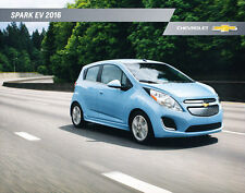 2016 Chevrolet Spark EV Electric New Car Sales Brochure Catalog