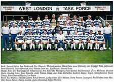 QPR FOOTBALL TEAM PHOTO 1991-92 SEASON