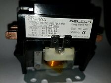 new 40 Amp 2 poles 110 vac relay