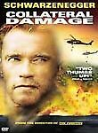 COLLATERAL DAMAGE Widescreen Action dvd ARNOLD SCWARZENEGGER 2001