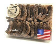 Alaska Wild Red Dried Sea Cucumber Grade AAA Natural Sun Dried 1LB US SHIP
