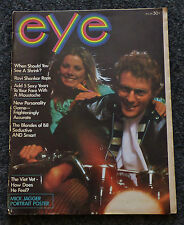 EYE MAGAZINE ORIGINAL MAY 1968 ISSUE WITH MICK JAGGER POSTER ROLLING STONES
