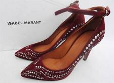 Isabel Marant Stanley Stud Leather Heels Shoes Fr38 UK4  -RRP630GBP