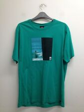 Salt Rock - Green T-Shirt With Graphic Size Uk XL (P088)