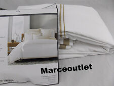 Hotel Collection Coordinated Basics Embroidered FULL / QUEEN Duvet Champagne