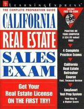 California Real Estate Sales Exam by LearningExpress Staff (1999, Paperback)