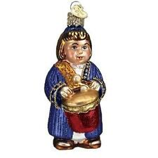 LITTLE DRUMMER BOY OLD WORLD CHRISTMAS GLASS RELIGIOUS ORNAMENT NWT 24105