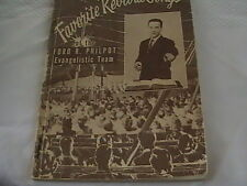 Favorite Revival Songs by Ford R. Philpot Evangelistic Team (paperback)