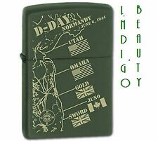 Zippo Lighter D Day # 9 collectible. Nice for Xmas Present.