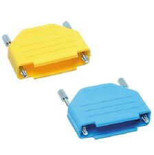 Snap-fit Colour Coded D-type Connector Cover 25 Way Blue Dee D Series