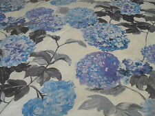 Designers Guild Cassandra Curtain Fabric IN COBALTO 55cm BIANCHERIA MIX BLU