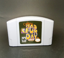 Nintendo N64 Game Conker's Bad Fur Day and more Video repro Cartridge  Eng
