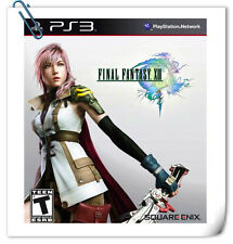 PS3 Final Fantasy XIII  SONY PLAYSTATION GAMES Square Enix RPG