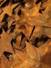 """Lot 100 Rusty Barn Stars 2.25 in 2 1/4"""" Primitive Country Rusted Rust Craft"""