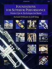"""""""FOUNDATIONS FOR SUPERIOR PERFORMANCE""""-TROMBONE MUSIC BOOK BAND SALE BRAND NEW!!"""